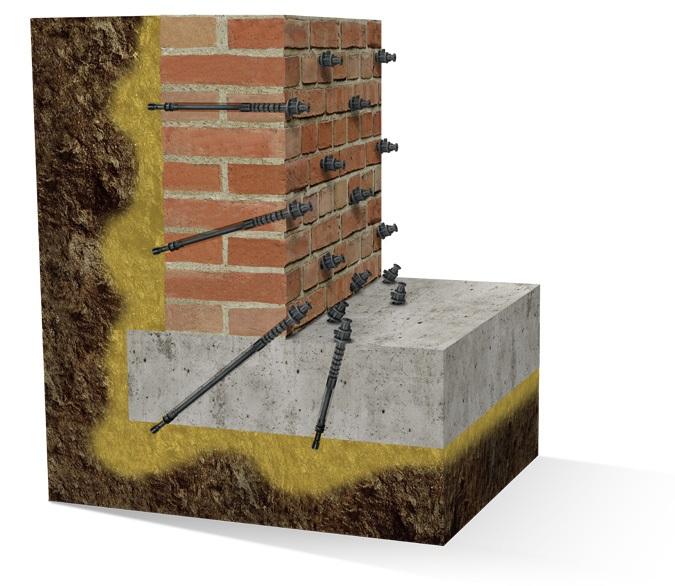 Вуальная гидроизоляция инъектированием