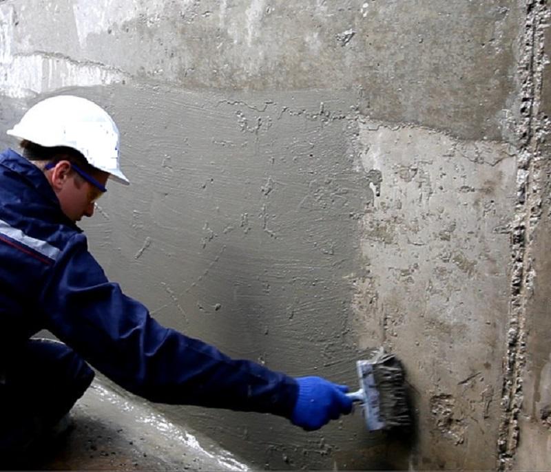 Проникающая гидроизоляции стен