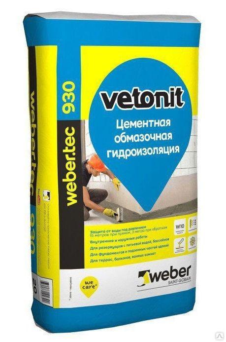 Weber vetonit тек. 930