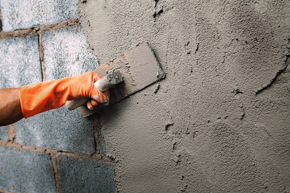 Цементно-песчаная-штукатурка